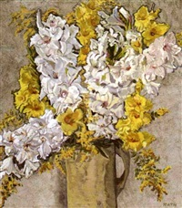 gladiola by hildegard rath