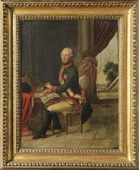kaiser joseph ii. an seinem schreibtisch by austrian school-vienna (18)