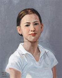 少女像 by lin shengyuan
