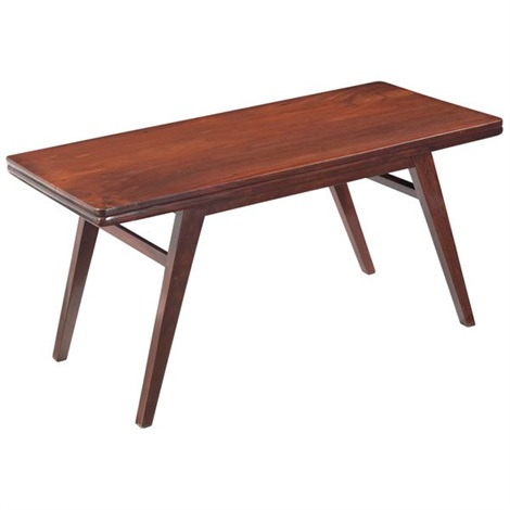 coffee table by pierre jeanneret