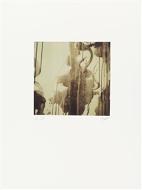 untitled (from re-object, mythos) by cy twombly