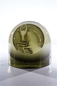 objekt mit tierkreiszeichen ''stier'' by stanislav libenský and jaroslava brychtová