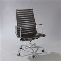 ea 119 swivel chair by charles eames