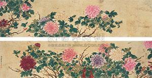 牡丹蝴蝶 by tang shishu