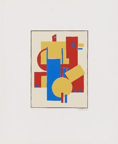 album ma 1970 portfolio of 6 wtitle pg by sándor bortnyik