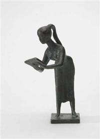 lesendes mädchen by gregor kruk