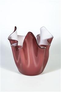 taschentuchvase fazzoletto by fulvio bianconi