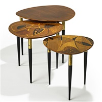nesting tables (set of 3) by erno fabry