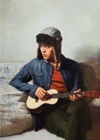 琴 (ukulele) by bai bingyang