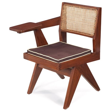 student chair by pierre jeanneret