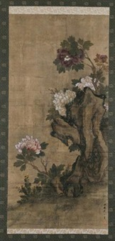 牡丹 by zhou zhimian