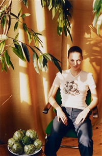 kate with tree by wolfgang tillmans