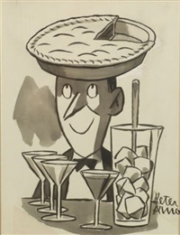 pie-head by peter arno