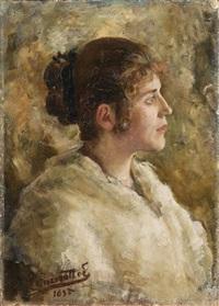 ritratto di giovane by egisto lancerotto