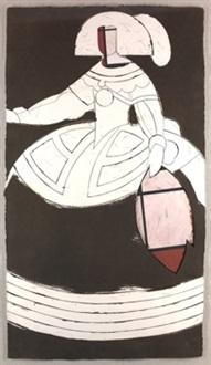 reina mariana by manolo valdés