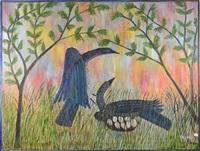 oiseaux et leur nid by mulongoy pili pili