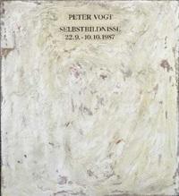 selbstbildnis by peter vogt