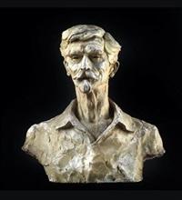 büste des historiker und politiker dr. august fournier by gustinus ambrosi