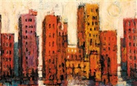 cityscape by jane stouffer