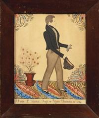 portrait of david p. glidden aged 16 years on december 23, 1837 by joseph h. davis