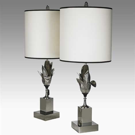 table lamps pair by charles et fils