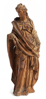 statuette einer weiblichen heiligen oder einer allegorie by francesco da sangallo