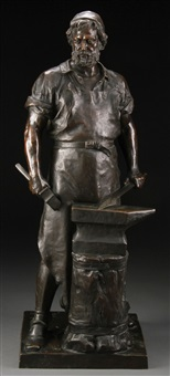 blacksmith by wilhelm albermann