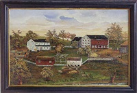 the snyder farm, oley valley, berks county, pennsylvania by franklin eshelman
