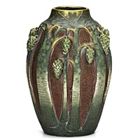 amphora pine tree vase by paul dachsel