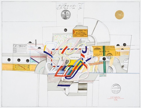 ticket by saul steinberg