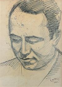 volto maschile by gerardo dottori