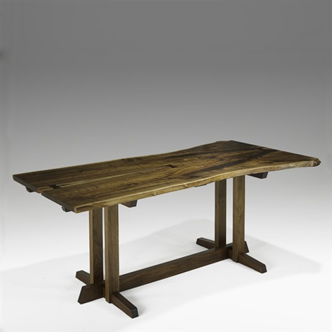 frenchmans cove ii dining table by mira nakashima yarnall