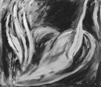 ohne titel (flammendes herz) by gerhard naschberger