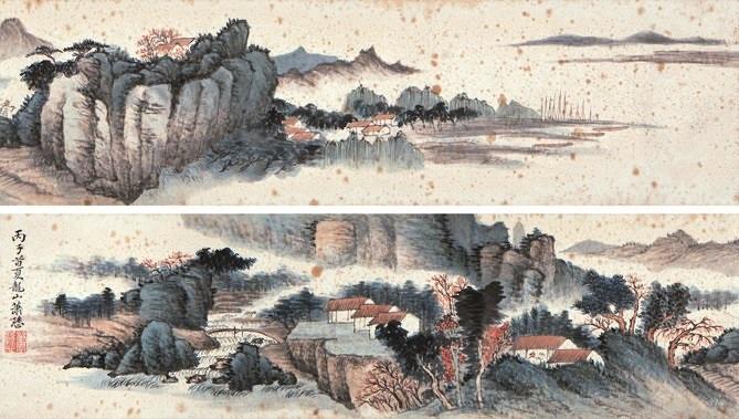 山居图 landscape by xiao xun