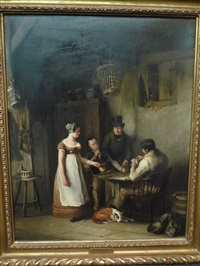 the card-players by john cawse