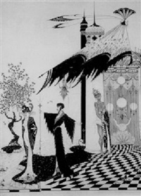 märchen-illustration by alastair (hans henning baron vogt)