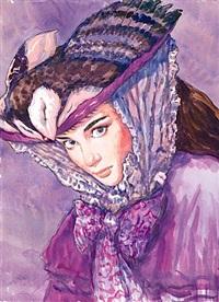 portrait de femme by gradimir smudja