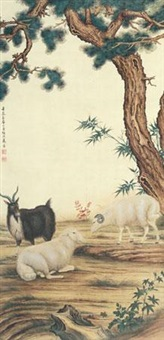 三羊开泰 by ma jin