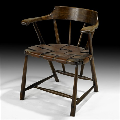 captains chair by wharton h esherick
