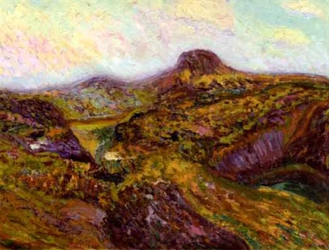 new mexico landscape by walter ufer