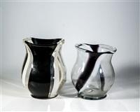 zwei vasen (pair) by wolfgang von wersin