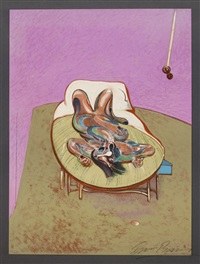 ohne titel (reclining figure) by francis bacon