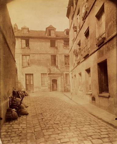strasse paris by eugène atget