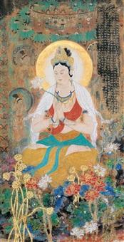 观音大士像 (guan yin) by deng jingmin