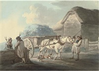 the haycart by peter la cave