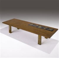 coffee table by alexandra kasuba and vladimir kagan