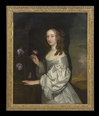 portrait of elizabeth ashburnham nee poulett by john hayls