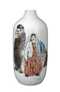 《高原情》瓶 (affections for plateau vase) by le qiong