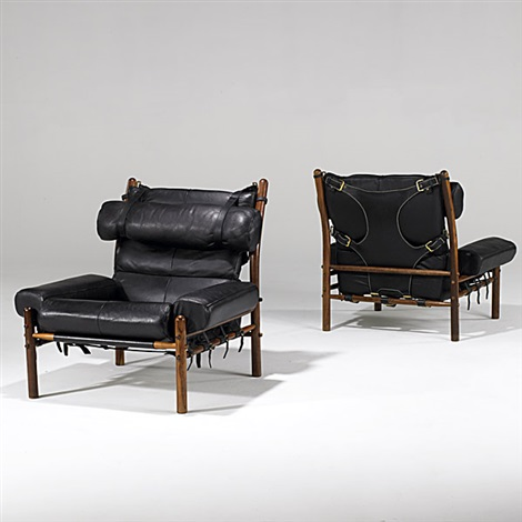 Inca Chairs Pair By Arne Norell On Artnet, Arne Norell Inca Chair