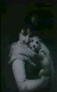 mädchen mit hund by alberto gessner